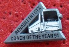 RARE PIN'S RENAULT CAR BUS FR1 GTX BRUT SANS FINITION ARTHUS BERTRAND