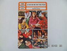 CARTE FICHE CINEMA 1999 LA VIE NE ME FAIT PAS PEUR Ingrid Molinier JM Parmentier