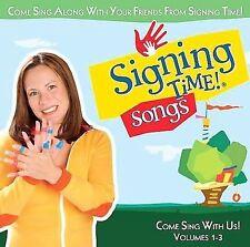 Rachel de Azevedo Coleman : Signing Time! Songs Volumes 1-3 CD CD