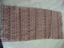 Antique Scandinavien Woven Runner Pink/Brown