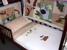 New Kidsline 6 Piece linen Cot Set Zanzibar Jungle Playtime Bedtime Baby