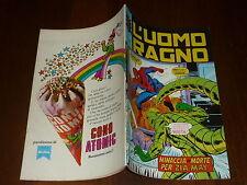 L' UOMO RAGNO N° 186 CORNO Ed CORNO 1977 DA RESA - MAGAZZINO !!