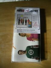 THE BIG BANG THEORY 3D Peel & Stick Wall Decals Not permanent, NIP-FREE SHIPPING