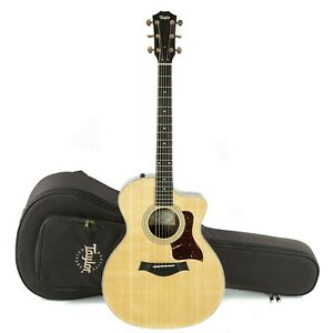 Taylor 214ce DLX Spruce Top Grand Auditorium Acoustic/Electric Guitar w/ Case