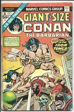 Giant-Size Conan The Barbarian #3 1975