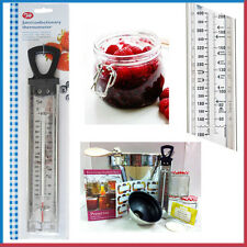 Confectionery Cooking Kitchen Thermometer Jam Stainless Steel Food Read Probe