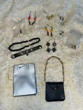 Tyler Wentworth doll accessories, purses, jewelry, necklaces, shopping bag!