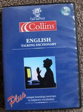 Collins English Talking Dictionary+Unique learning exercise 2 improve vocabulary