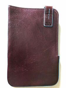 Custodia Galaxy Tab Piquadro In Pelle Colore Bordeaux