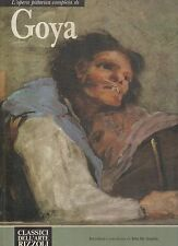 classici dell arte rizzoli-opera completa di goya - maynon