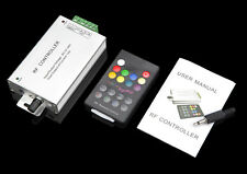 Aluminum 12A Music Sound Controller + 18 key RF Remote for LED RGB Strip Light