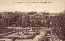 CPA  Le Havre - La Sous-Préfecture et le Jardin de la Bourse    (201115)