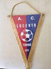 GAGLIARDETTO UFFICIALE CALCIO LUCENTO A.C. TORINO 1947