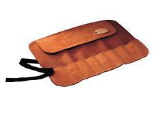 Faithfull FAILCR8 Leather Chisel Roll - 8-Pocket