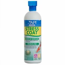 LM PondCare Stress Coat Plus Fish & Tap Water Conditioner for Ponds 16 oz (Treat