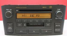 TOYOTA AVENSIS CD CASSETTE TAPE RADIO PLAYER D-4D 2003 2004 2005 2006 2007 2008