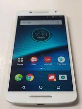 New listing Motorola Droid Maxx 2,Xt1565,16Gb,Winter White,Unlocked,Good Condition : Aa930
