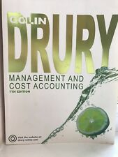 Cost and Management Accounting An Introduction Colin Drury Seventh Edition
