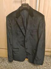GUCCI Velvet suit Jacket 52R (large uk)