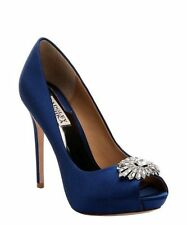 Women's Satin Pumps, Classics Heels