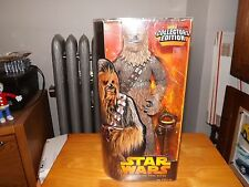 "STAR WARS REVENGE OF THE SITH, CHEWBACCA 14"" COLLECTOR EDITION, NIP, 2005"