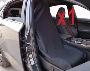 Single Throw Over Slip On Car Seat Cover Fit More Than One Vehicle Black