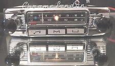 Blaupunkt Mannheim 12+/- Vintage Chrome Classique Voiture Radio FM +MP3 Garantie Complète
