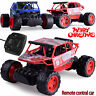 2.4G Off Road Remote Control Radio RC Car Toys Gifts 1/18 Rock Crawler Truck 4WD