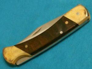 VINTAGE SCHRADE USA UNCLE HENRY LB7 LOCKBACK FOLDING HUNTER BOWIE KNIFE KNIVES