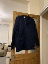 DC NAVY BLUE MENS HOODED JACKET/COAT  SIZE XL