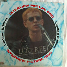 Picture Disc Vinyl Records Lou Reed for sale   eBay