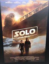 SOLO Star Wars Story (2018) Poster prima edizione ITA 70x100 NON PIEGATO