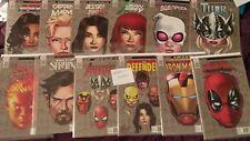 Lot 12 comics Mike McKone Marvel Legacy Headshot Variant 1:10