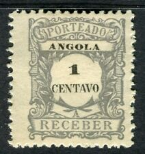 PORTUGUESE ANGOLA 1900s early Postage Due issue Mint unused 1r. value