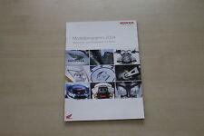 167938) Honda Motorrad - Modellprogramm - Prospekt 12/2003