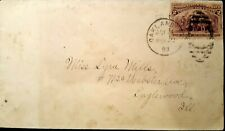 New ListingUs stamps 19th century used Eas scott 231 on cover no contents some soiled areas