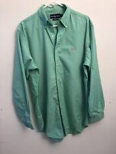 Ralph Lauren Green Dress Shirt Mens XL