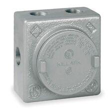 "Killark GRSS-1 Explosion Proof Junction Box with (7x) 1/2"" Hubs"