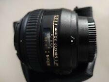 Nikon NIKKOR AF-S 50mm F1.4 G Objetivo (JAA-014-DA)