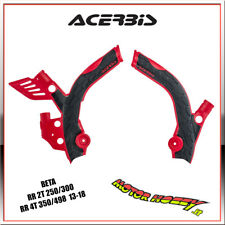 PROTEZIONE TELAIO ACERBIS X-GRIP BETA RR 2T 250/300 - RR 4T 350/498 13-18 ROSSO