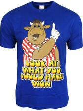 Camisetas de hombre de manga corta azul talla M