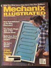 MECHANIX ILLUSTRATED - March 1977 - Solar Collectors, New Laws, Carports