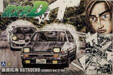 Aoshima Initial D Takumi Fujiwara Toyota AE86 Trueno (Comics Vol.37Ver) Escala 1