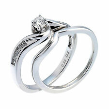 H. Samuel White Gold 18 Carat Fine Diamond Rings