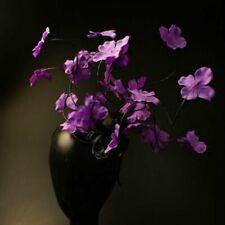 Creative Headdress Artificial Purple Flower Carnival Stage Catwalk Performance