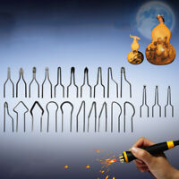 23pcs Portable Mini Heating Wire High Impedance Wood Burning Pyrographic Tip Kit