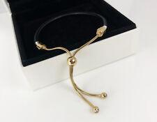 Authentic PANDORA Sliding Bracelet Bolo Clasp Only 14k Gold Vermeil 597225CBK