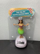 New Hula Hawaiian Girl Solar Powered Dancing Bobble Head Toy, Sun Catcher Dancer