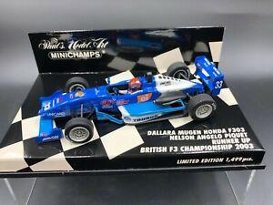 Minichamps 1:43 Nelson Piquet Jr Dallara F303 British F3 Championship 2003