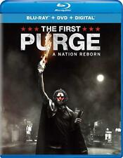 The First Purge (Blu Ray + DVD +Digital) w SLIP COVER **FREE SHIPPING**